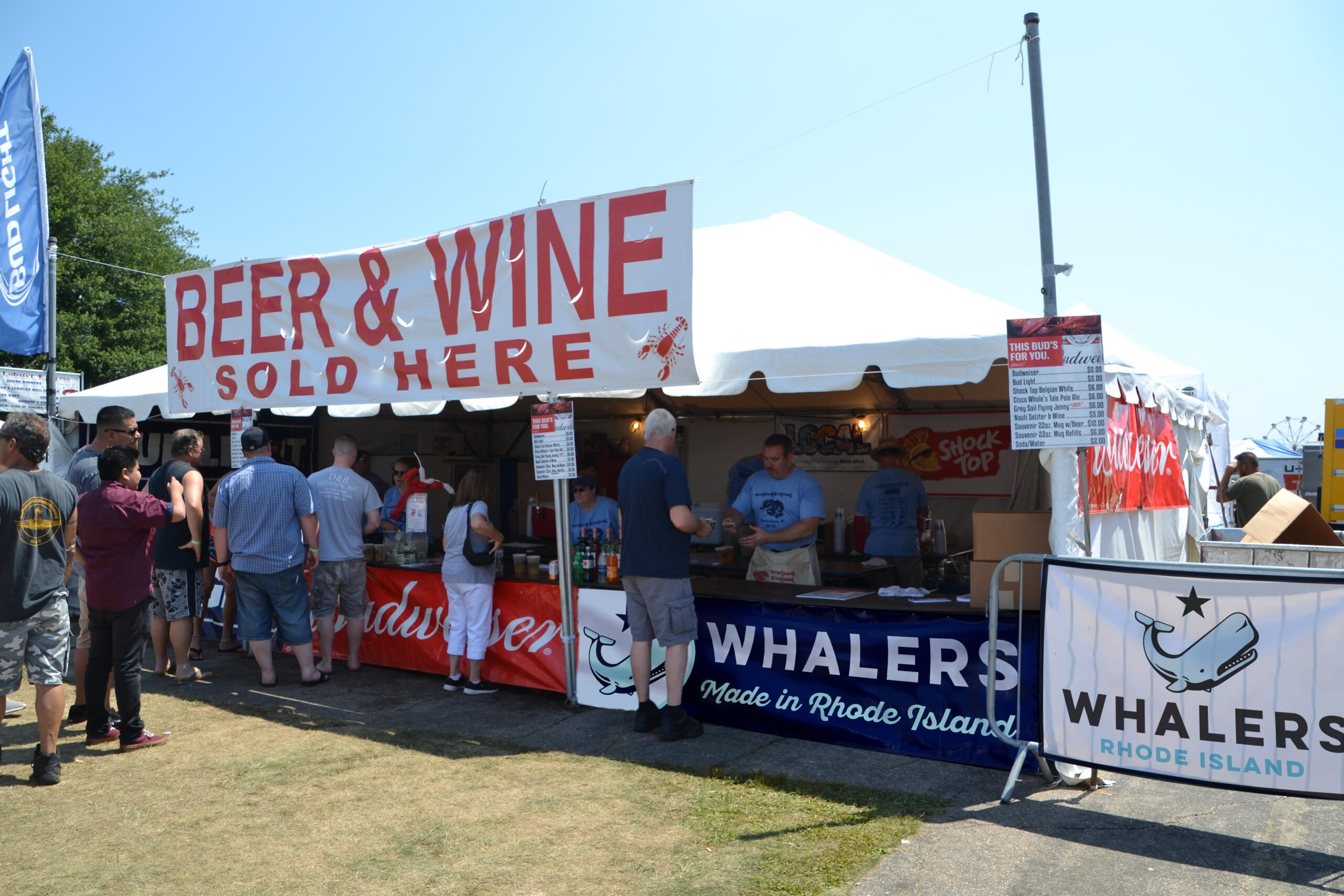 charlestown seafood festival beer and wine