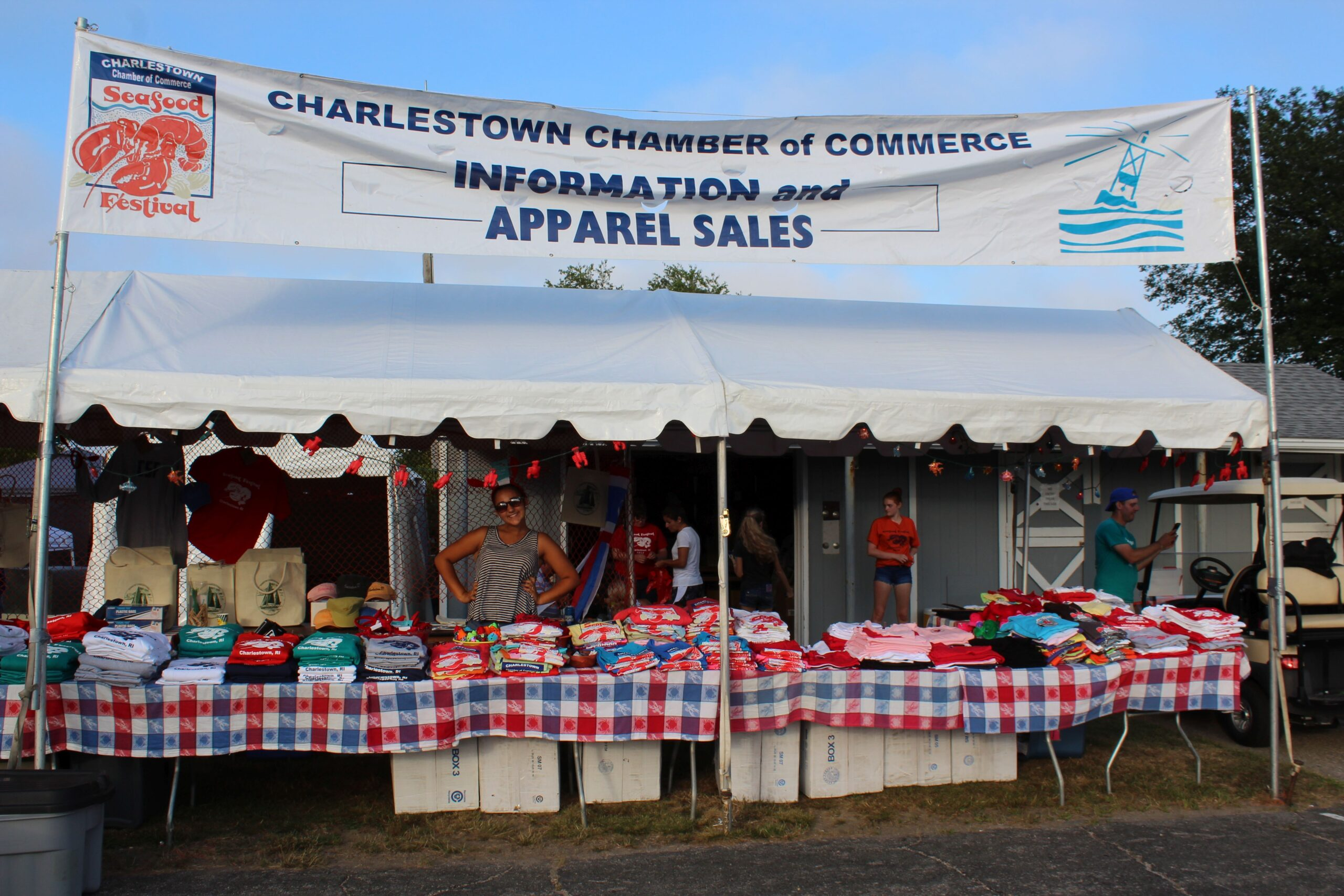 Charlestown Seafood FEstival_Charlestown Chamber of Commerce information tent v3